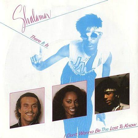 Shalamar - There It Is (1982) - vinyl single sleeve