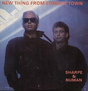 Sharpe & Numan - New Thing From London Town - vinyl single (1986)