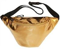 Extreme 80s Shiny Gold Fanny Pack