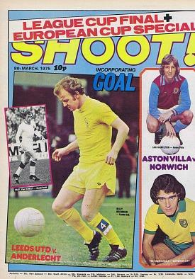 Shoot! football magazine March 1975