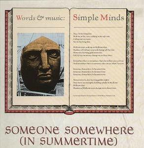 Someone, Somewhere (In Summertime) - 12