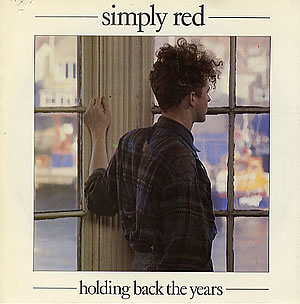 Simply Red Holding Back The Years - Single Sleeve
