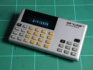 Sinclair President Calculator 1978