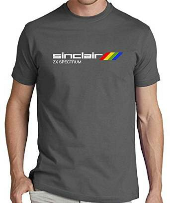 Sinclair ZX Spectrum T-shirt for men (grey)