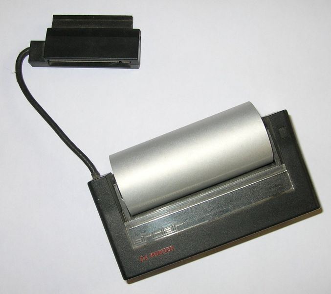 Sinclair ZX Thermal Printer