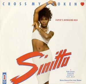 Sinitta - Cross My Broken Heart (3 track EP)