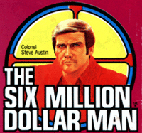 The Six Million Dollar Man Kenner toy logo