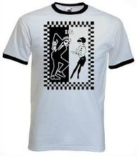 Ska Dancers T-shirt Adults