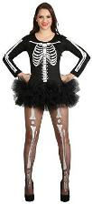 Sexy Skeleton Tutu Costume for Women
