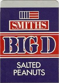 1980s Snack - Smiths Big D Salted Peanuts