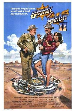 Smokey And The Bandit II (1980) original movie poster