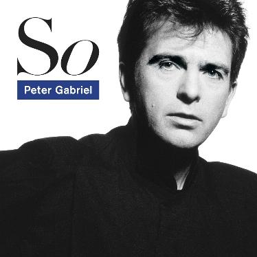 Peter Gabriel So LP (1986)