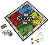 Sorry! 80s Board Game