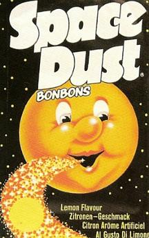 Space Dust popping candy