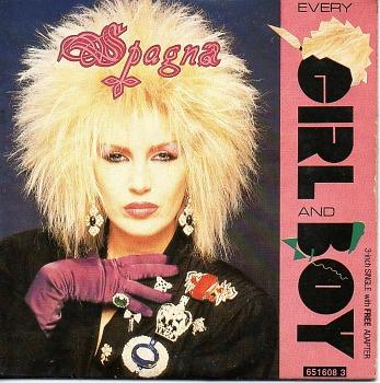 Spagna - Every Girl And Boy (1988) - 2 track, 3 inch CD single