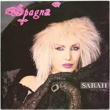 Spagna - Sarah (1987) - vinyl single special edition