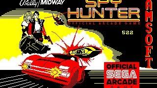Spy Hunter - Amstrad CPC loading screen