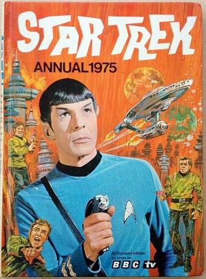 Star Trek Annual 1975 ft. Mr. Spock