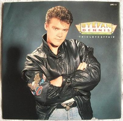 Stefan Dennis - This Love Affair - vinyl 7