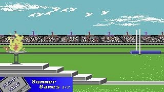 Summer Games c64 screenshot