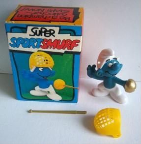 Original Super Sports Smurf - Fencer