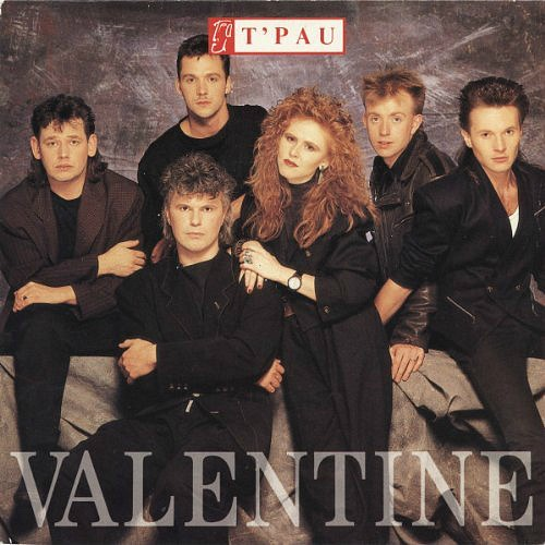 T'Pau - Valentine single sleeve