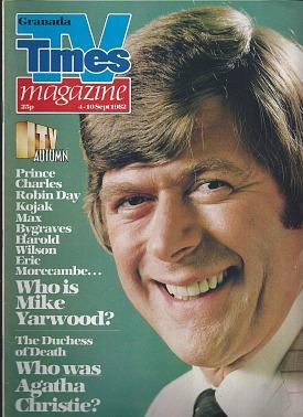TV Times magazine Sept 1982 ft. Mike Yarwood