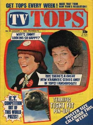 TV Tops magazine Jan 1983 ft. The Krankies
