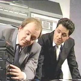 Alas Smith and Jones - Mel Smith, Griff Rhys Jones