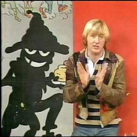 Chris Tarrant and the Phantom Flan Flinger on TISWAS