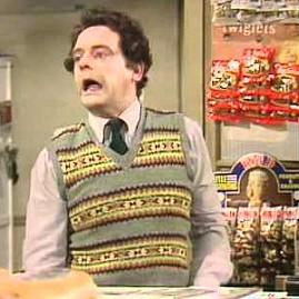David Jason as Granville in Open All Hours