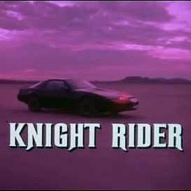 Knight Rider TV Series Titles 1980s