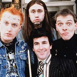 The Young Ones - Vyvyan, Neil, Rick and Mike