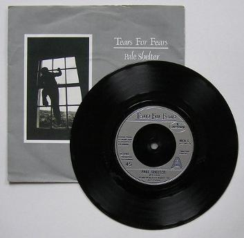 Tears For Fears - Pale Shelter single with sleeve