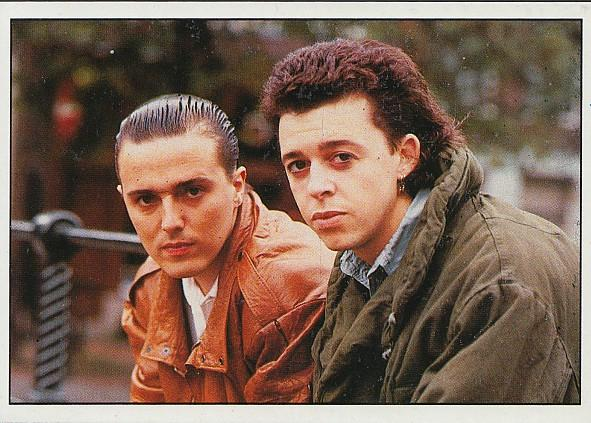 Tears For Fears Smash Hits sticker 1987
