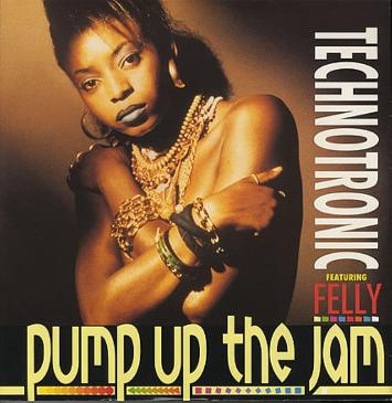 Technotronic ft. Felly - Pump Up The Jam (1989 vinyl)
