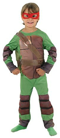 Official Teenage Mutant Ninja Turtles Costume for Kids/Boys