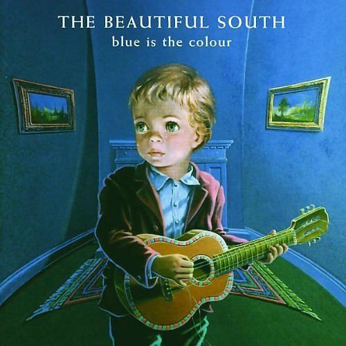 The Beautiful South - Blue Is The Colour (album sleeve front cover)