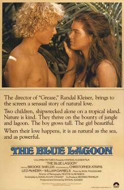 The Blue Lagoon (1980) - original promotional flyer