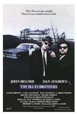 The Blues Brothers (1980) original film poster