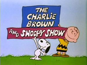 The Charlie Brown And Snoopy Show title card (1985)