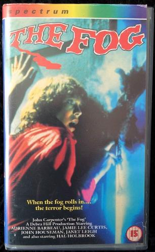 John Carpenter's The Fog (1980) VHS cassette