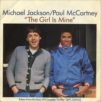 The Girl is Mine single by Michael Jackson and Paul McCartney