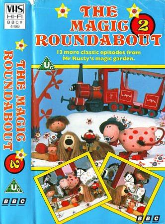 The Magic Roundabout VHS Video