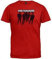 The Pretenders Silhouette T-shirt in red