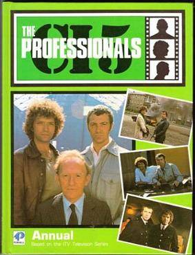 The Professionals Annual 1985 - Doyle, Bodie and Cowley
