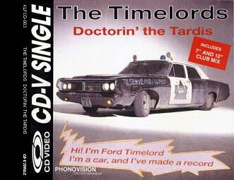 The Timelords - Doctorin' The Tardis - CD-V Single
