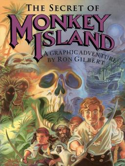 The Secret of Monkey Island - box artwork by Steve Purcell