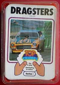 1970s Top Trumps series 1 - Dragsters