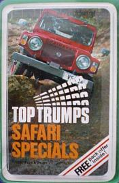 Vintage Top Trumps Card Games